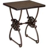 Uttermost Nostalgic Oak Magazine End Table Coupons